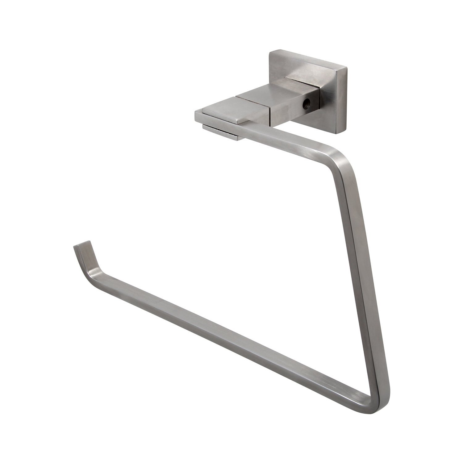BOANN BNASTR Solid T304 Stainless Steel Towel Ring/Hook