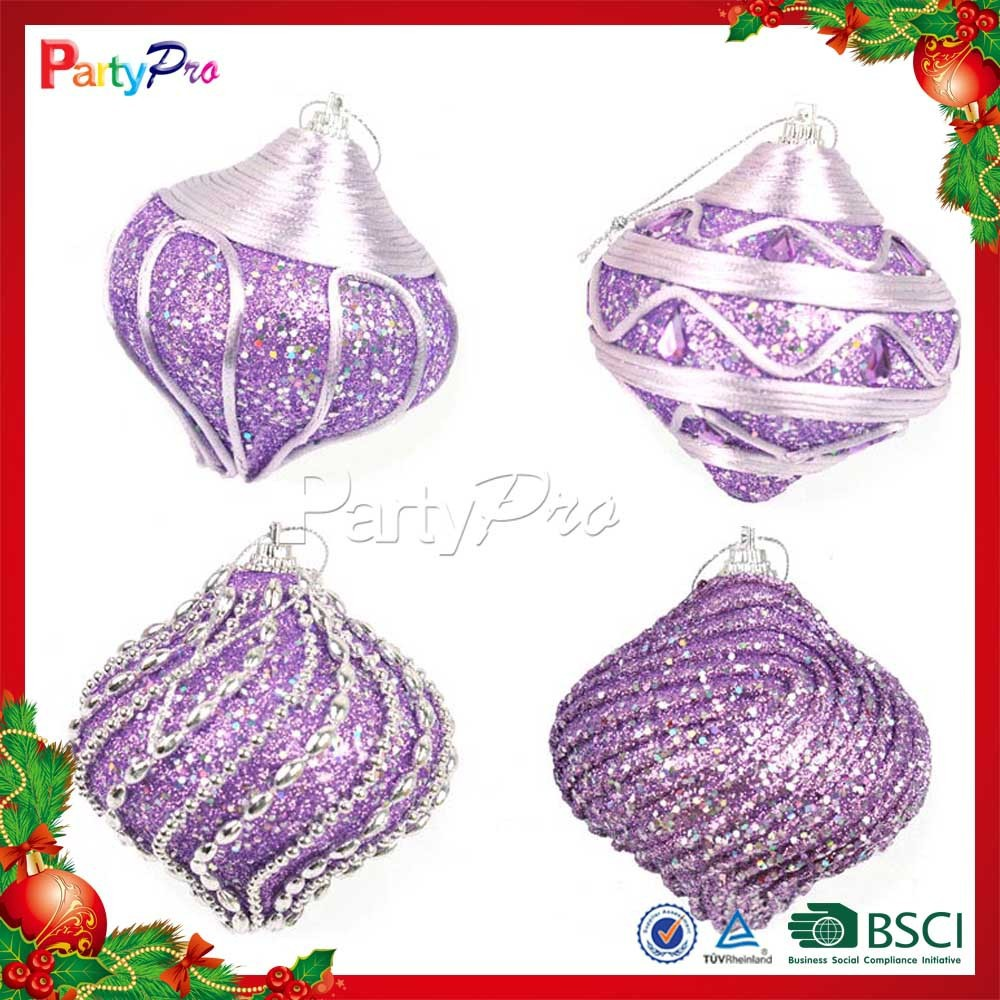 Partypro 2015 New Designs Various Shape Colorful Balls Hanging Ornament