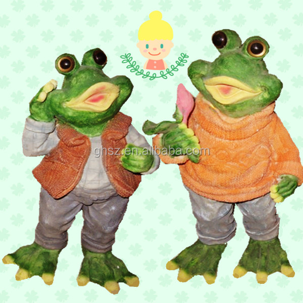 D coration de jardin grenouille r sine grenouille for Decoration jardin grenouille