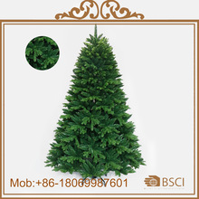 PE&PVC top-grade artificial Christmas tree for decoration