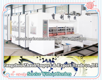 Flexo Printing Press Machines Pricepizza Box Machine