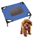 China factory metal foldable elevated pet dog beds