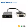 Linkworld high quality vga male to hdmi female converter