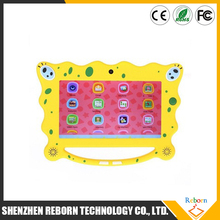 7 Inch Colorful Christmas Gift Boxchip A33 Colorful Kids Tablet, Android Tablet PC