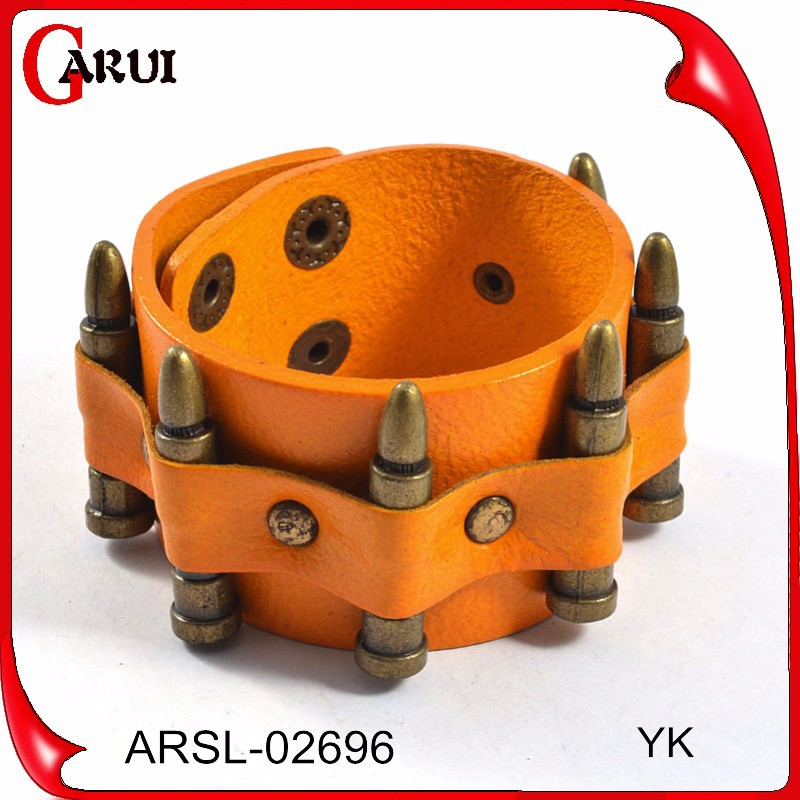 fashion jewelry 2015 leather band bracelets bullet bracelet leather bracelets wholesale