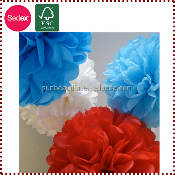 Best Selling Tissue Paper Flower Ball as Latest Corporate Gifts