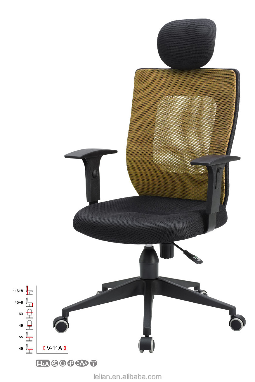 Hot Sale High end original and comfortable Moving Office Mesh Chair
