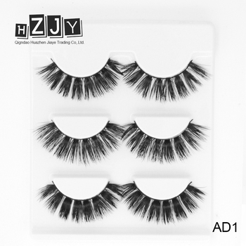 dabe640480f HZJY AD1 Alibaba Best Sellers Wholesale Private Label 3d Mink Strips Lashes