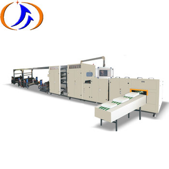 Full automatic cross paper cutting machine a4