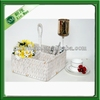 woven cutlery baskets, water hyacinth divided basket wholesale