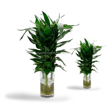 Factory Price Cheap Big Glass Flower Vase Use In Outdoor Buy