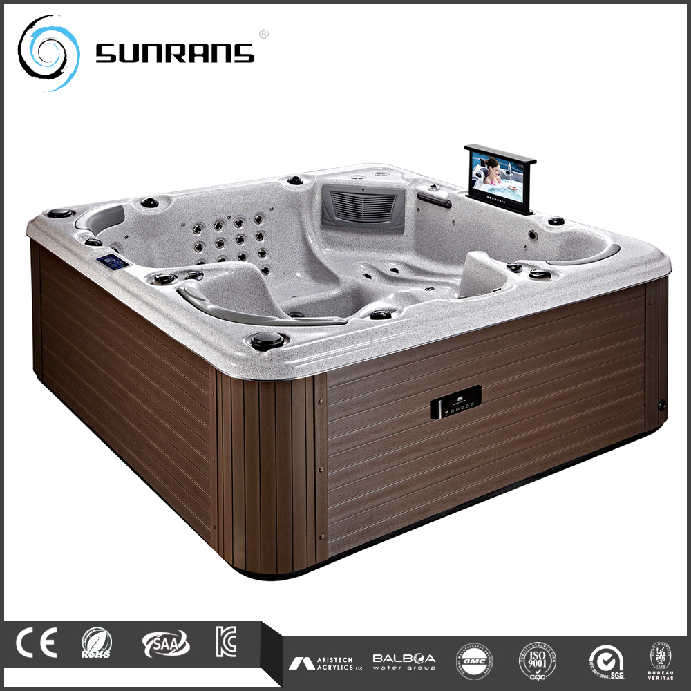 spa ext rieur de luxe tv pour 5 personnes baignoire spa id de produit 1581115826. Black Bedroom Furniture Sets. Home Design Ideas