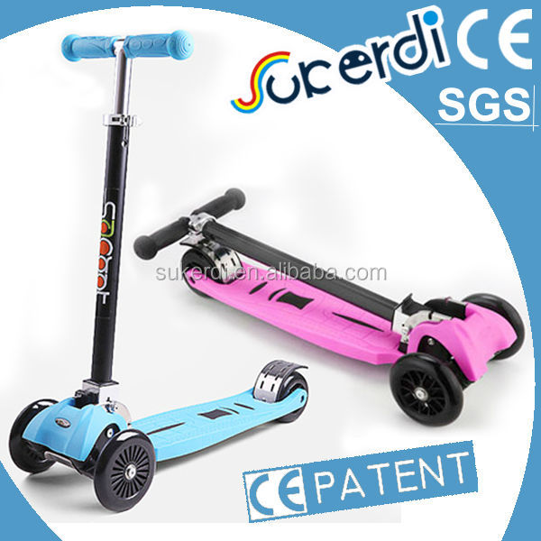 Patent product Christmas gift for kids four-wheeled cpi scooter