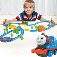 Popular Funny Thomas And Friends Electric Roller Coaster Toy Train With Railway Setss