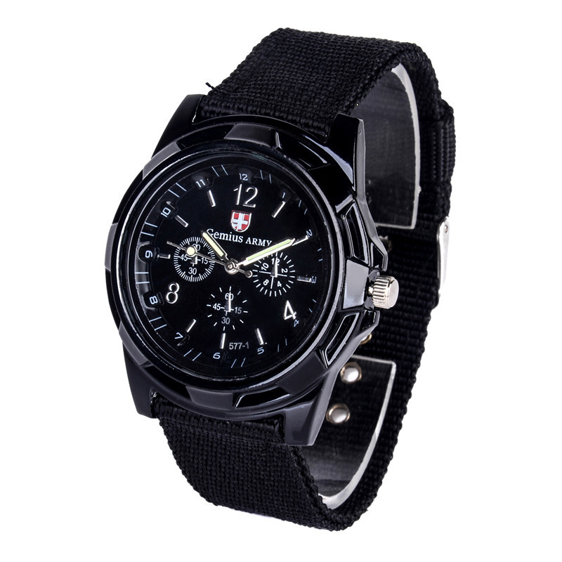 Weaving belt military watch air and army sports watch wholesale фото