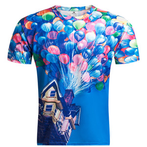 Balloon 3D T-shirts Fashion T Shirts Wholesale Website Design And Development