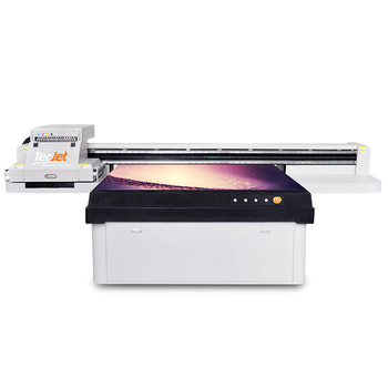 TECJET 2513 digital inkjet uv flatbed printer plastic bottle machine