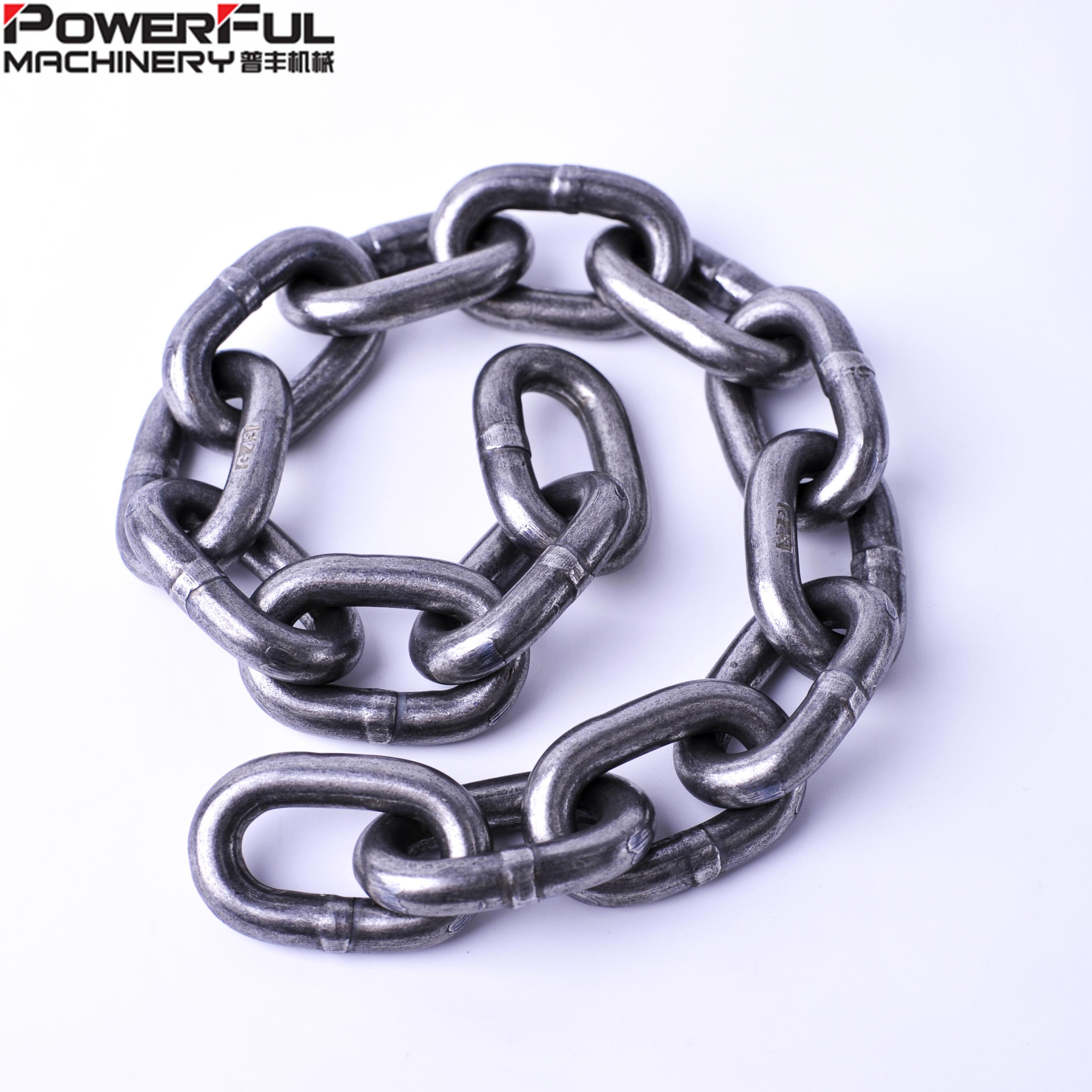 Strong Hot Dipped Galvanized Heavy Duty Steel Chain 4MM 2 Metre Custom Cut Length