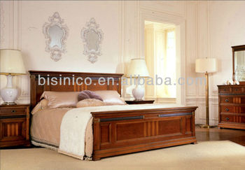 Contemporary Bedroom Solid Wooden Box Bed,Natural Wood Bedroom  Furniture,Upholstered Bed W Night stand,Dress W Mirror, View victoria  furniture bedroom ...