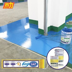 High quality anti abrasion industrial epoxy resin floor paint