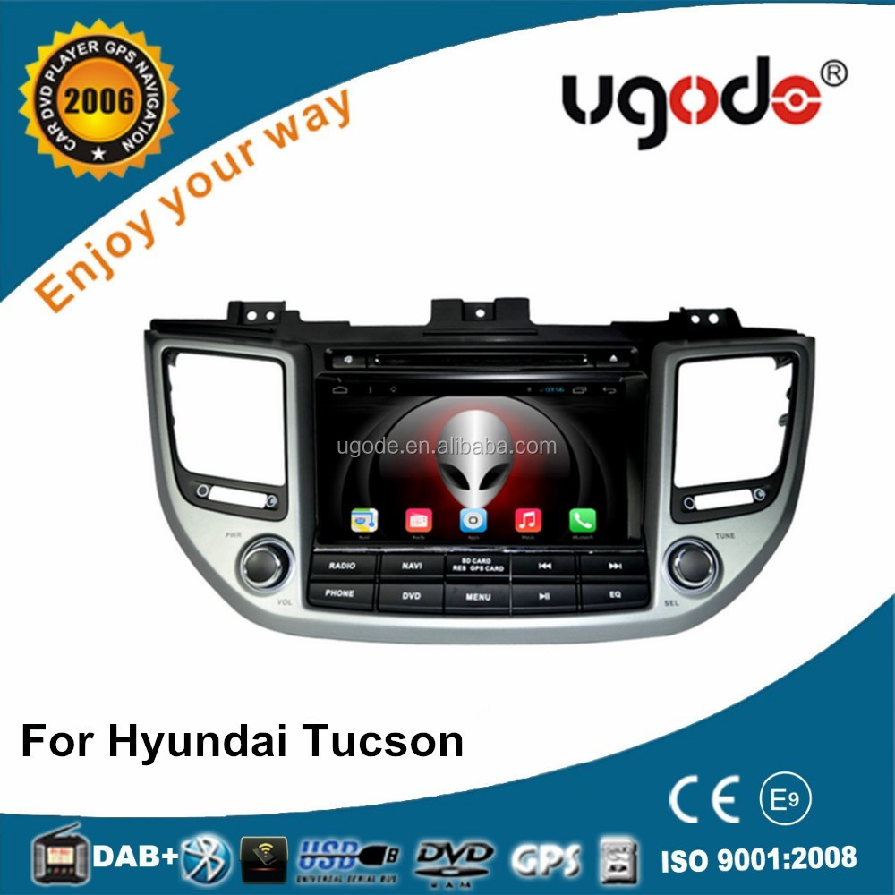 OEM android touch screen with GPS for hyundai tucson 2015 2016 dvd car radio