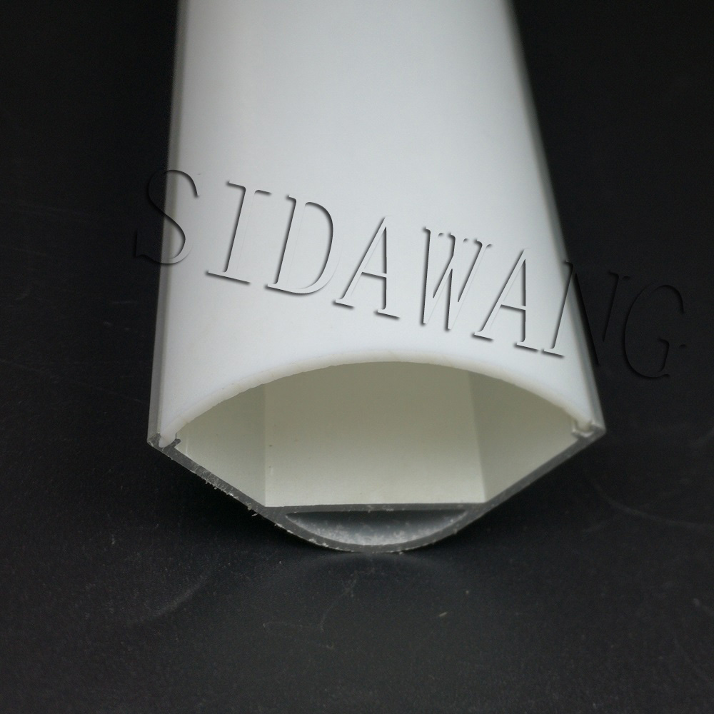 30*30mm High Power Jumbo led Aluminum Corner Profile Channel with Opal matte diffuser for led strip light applications