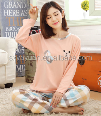 Custom made women winter velvet pajamas with rib red color printing zip-up home wear