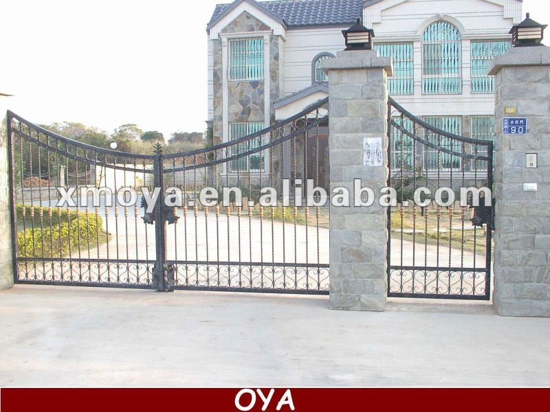 Nice Steel Frame Automatic Sliding Fence Gate - Buy Automatic ...