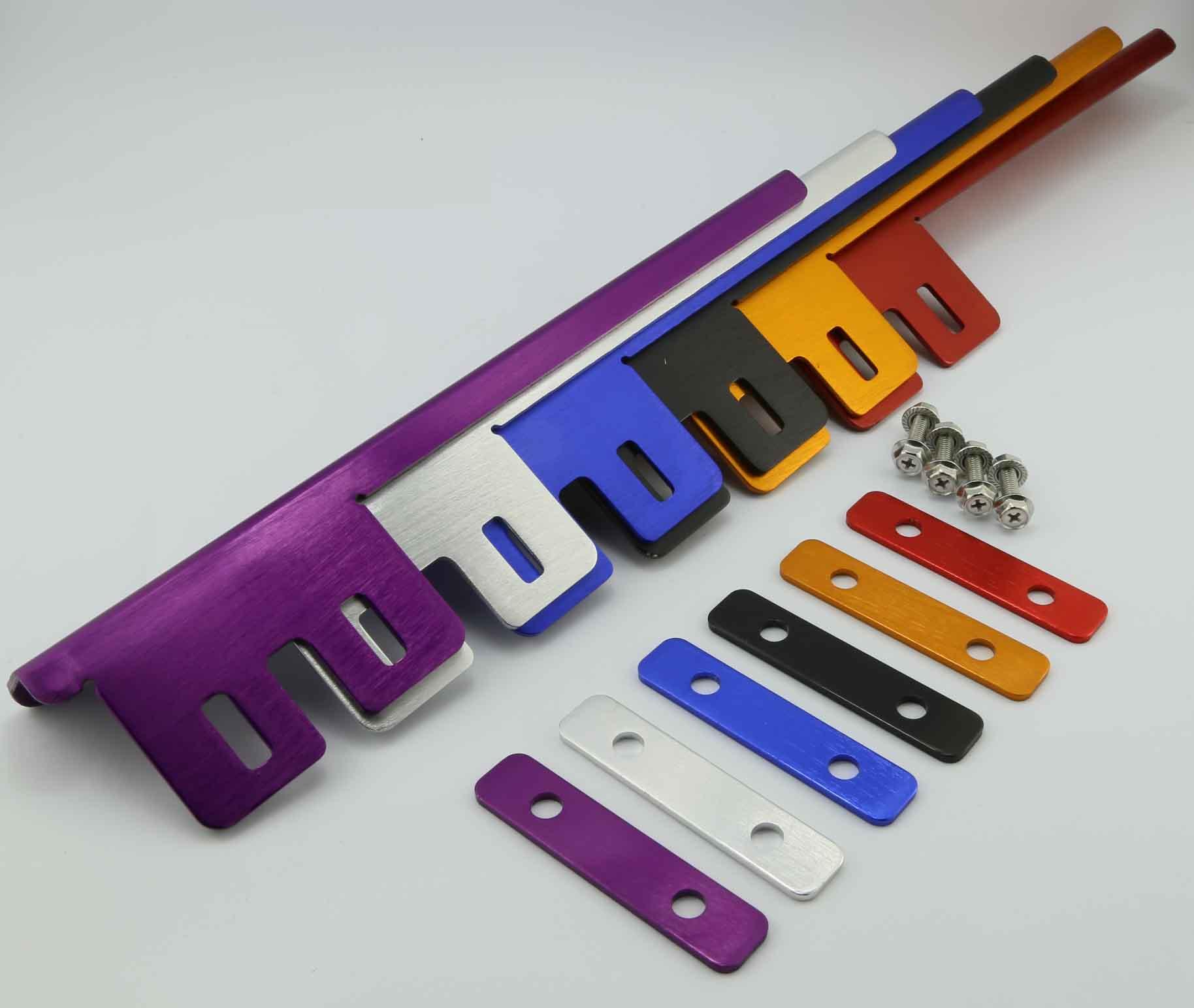 Precio de fábrica OEM personalizada plástico marcos de la matrícula del coche titular