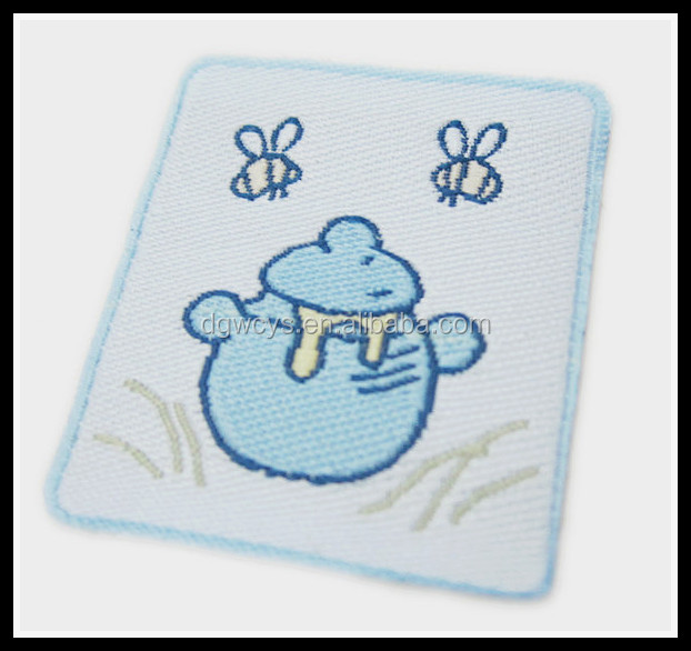 Cutely Bee and honey woven label