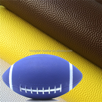 pu pvc synthetic basketballl america football ball leather raw material