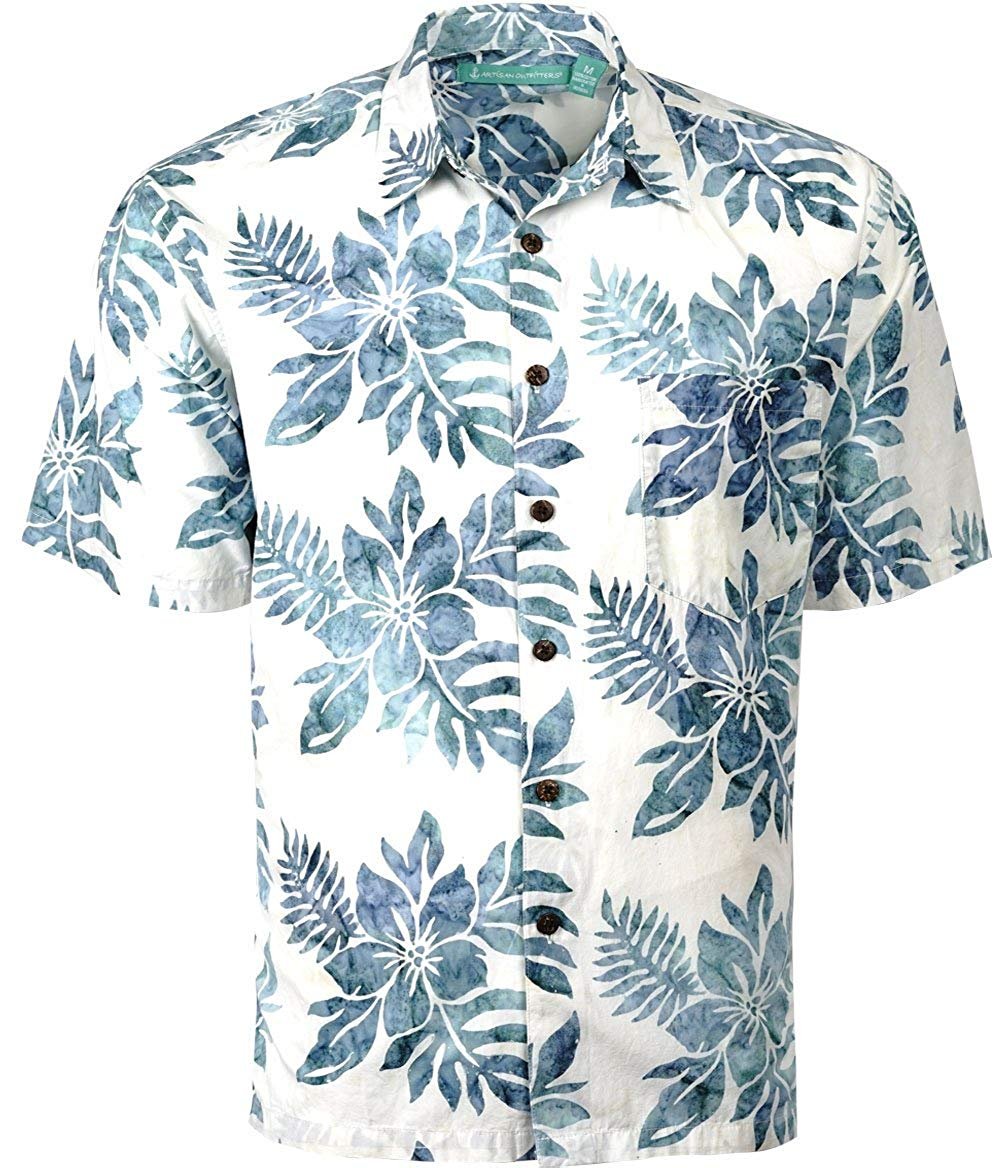 Artisan Outfitters Kids Key West Batik Cotton Hawaiian Shirt