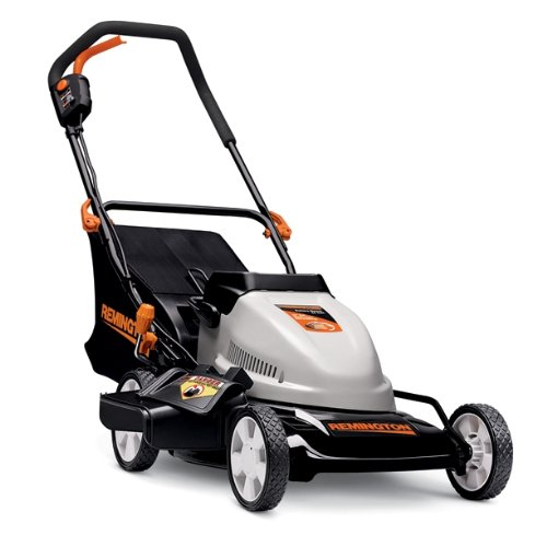 Remington RM212B 24 Volt 19-Inch 3-in-1 Cordless Battery-Powered Push Lawn Mower