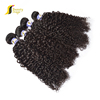 High quality yaki human hair wet and wavy weft,wholesale double drawn hair extensions