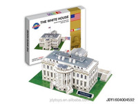 2014 new item white house 3d puzzle