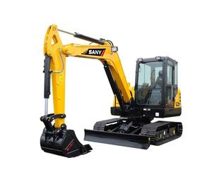 SANY Excavator 55C Earthmoving Machinery Mini Pipe Digger for Sale