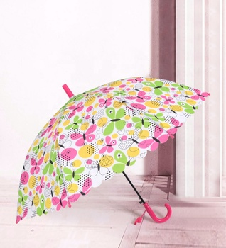 FREE SHIPPING to India RST high quality 8 ribs kids auto open rain kid  cartoon standard shape child umbrella
