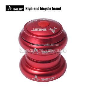 Wholesale bike parts OEM alloy threadless 28.6 bearing headsets for MTB