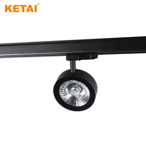 top quality round high voltage four wires led track light