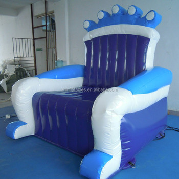 Inflatable Kids Chair, Blue Air Small Sofa,inflatable Child Sofa For Boy