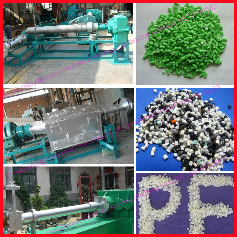 high efficiency and stable performance plastic pellet making machine/machine for to make plastic pellets/008615514529363