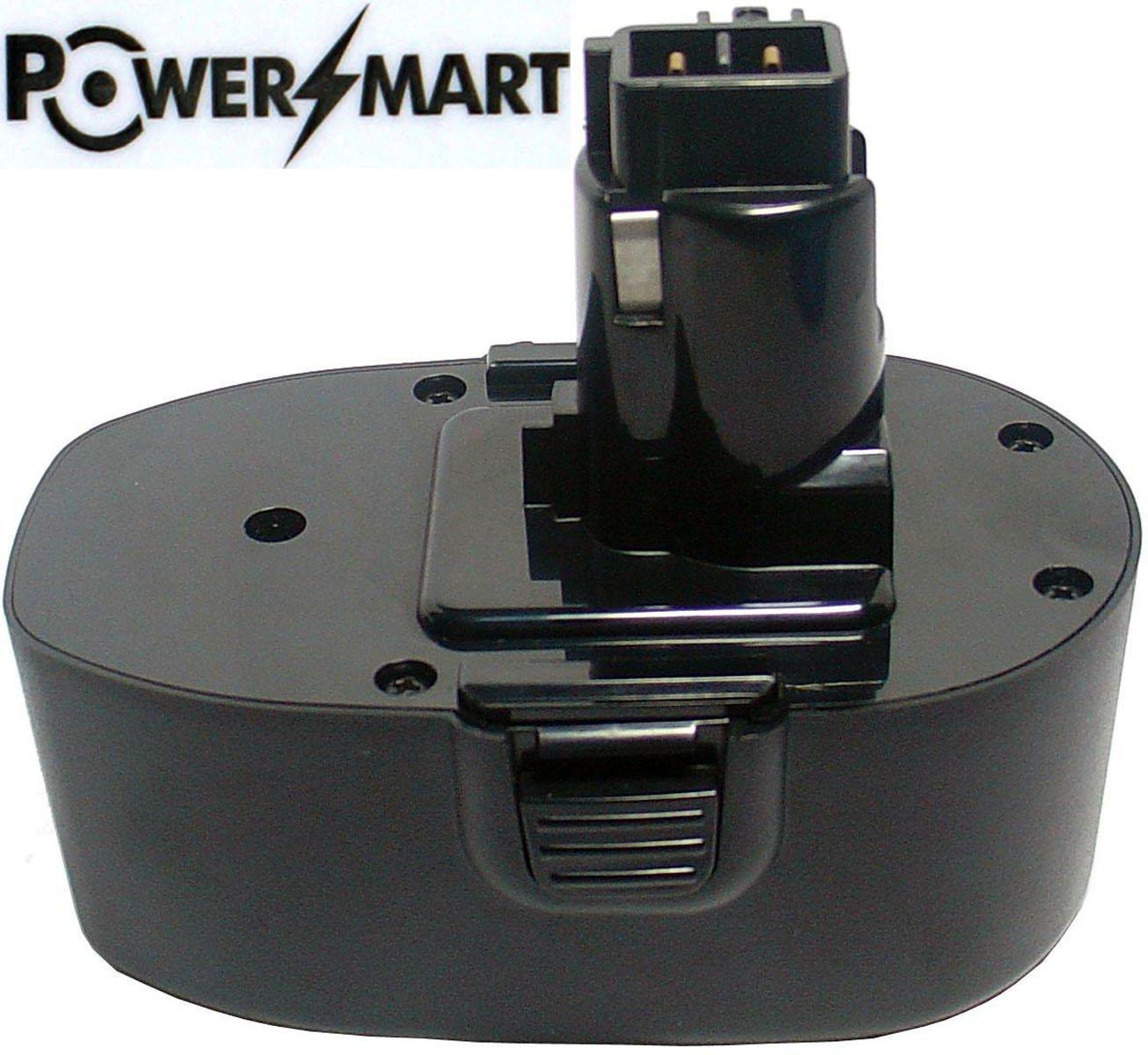 PowerSmart 18V 1500mAh Ni-Cd A9282, PS145 Battery for Black & Decker CD18C, CD18CA, CD18CAB, CD18CBK,