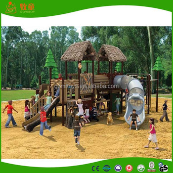 2014 nature series used outdoor playground play slides