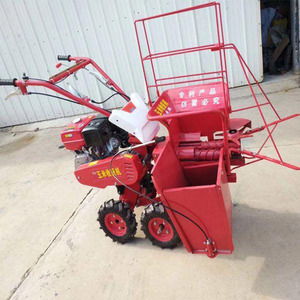 Small Corn Harvester Maize Harvester for Single Row