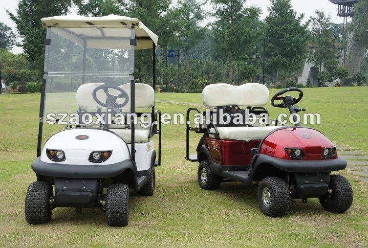 Top Verkoop 4 Zits Gas Aangedreven Golfkarretjes Rental!