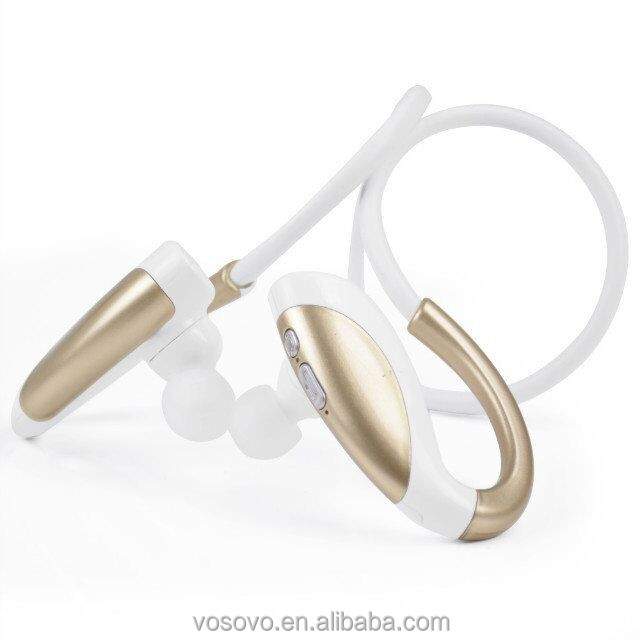 Wireless Earphones Over Ear Bluetooth Headset With Mic For Sports
