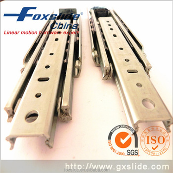 Triple Extension Heavy Duty Drawer Sliders For Industrial Furniture