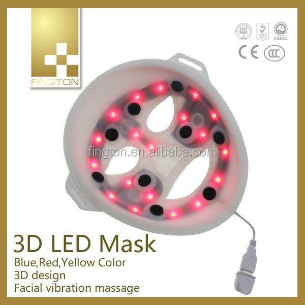Fington Edgelight red light led mask juvenility and compacthness environment friendly