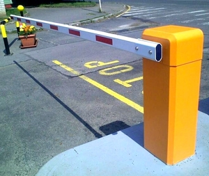Heavy Duty Electronic Barrier Gate Automatic Car Park Barrier For Rotary Parking System