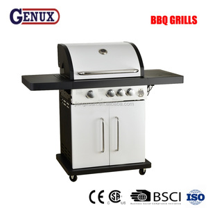 big size gas grill use for USA family party to outdoor bbq